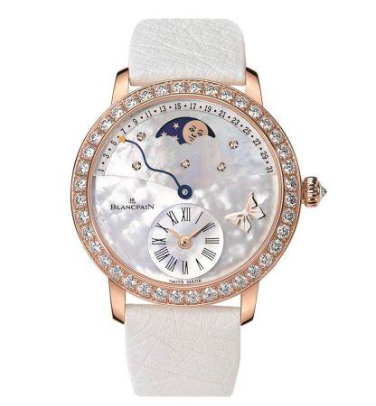 偏心逆跳日期-蝴蝶限量腕錶