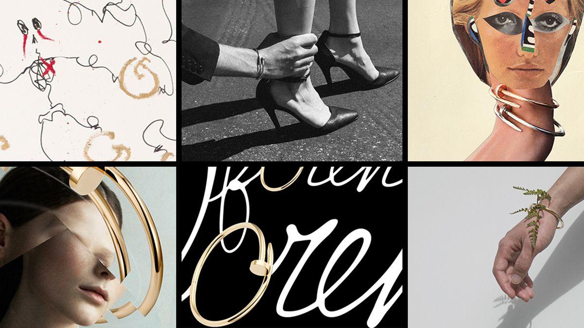 當珠寶遇見藝術!浪漫、詩意、前衛... 數位媒體藝術家賦予卡地亞 Cartier「Juste Un Clou」手環新個性風格