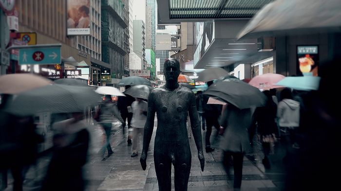 藝術家格姆雷「視界 香港」