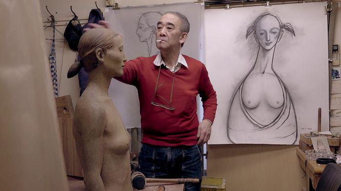 日本雕刻家舟越桂