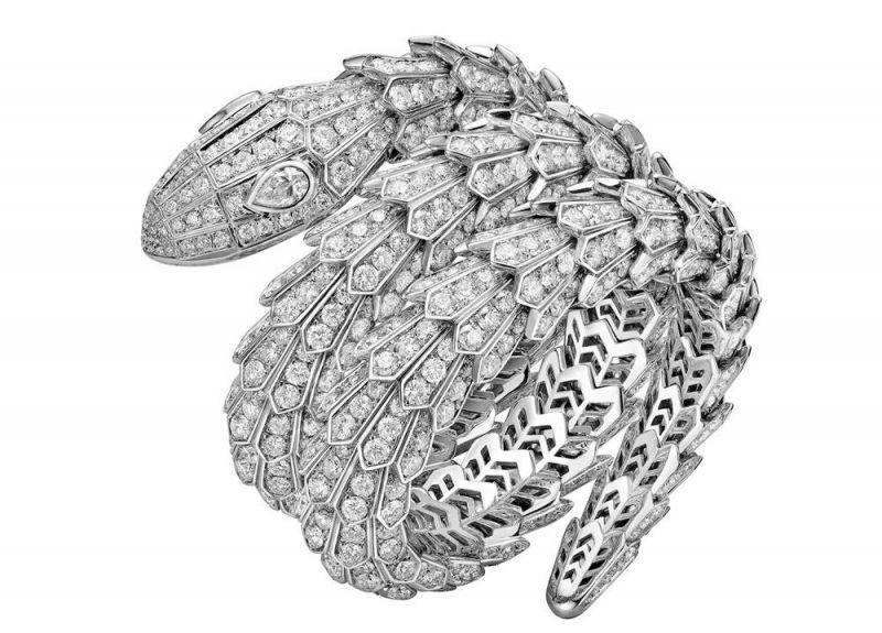 BVLGARI Serpenti 頂級鑽石手環 (Bella Hadid配戴款)