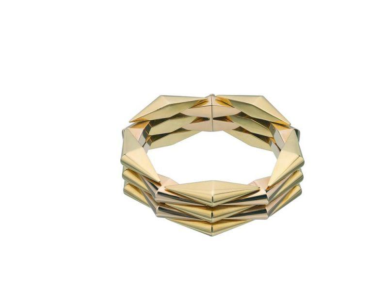 BVLGARI Heritage古董系列黃金及玫瑰金手環 (Diane Kruger配戴款)