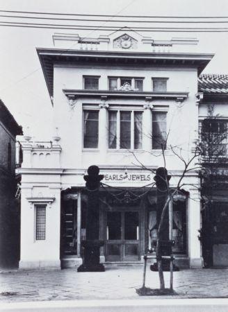 1906年的銀座本店,遷址到目前的銀座四丁目店址