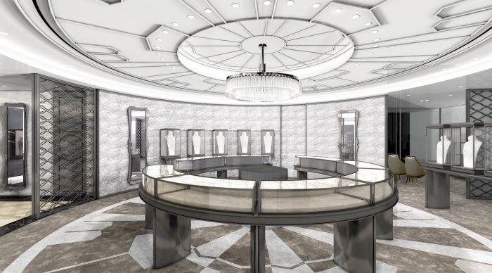 五樓高級珠寶空間