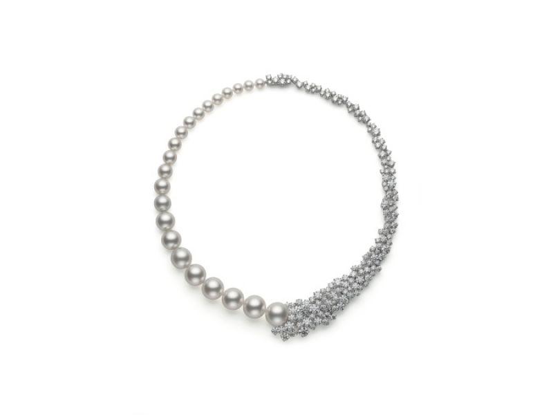 MIKIMOTO頂級珠寶系列 南洋真珠及日本Akoya真珠鑽石項鍊