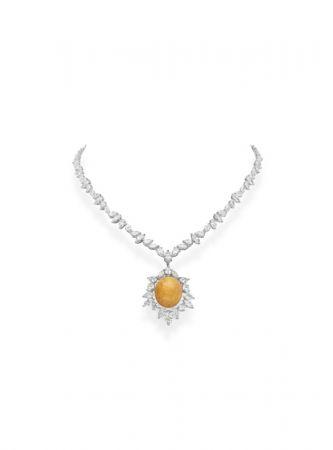 MIKIMOTO 頂級珠寶系列 美樂真珠鑽石項鍊