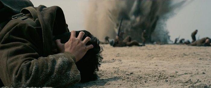 諾蘭表示不會著重在戰爭血腥畫面