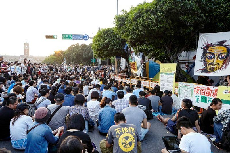 5月7日的「Palafang 來去凱道找朋友」活動超精彩,來了好多想一起違法的朋友