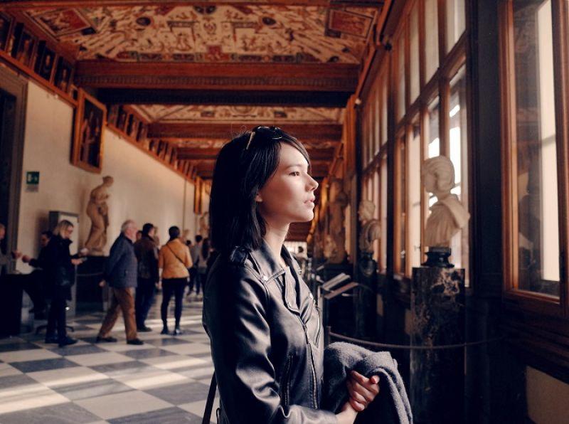 佛羅倫斯的烏菲茲美術館