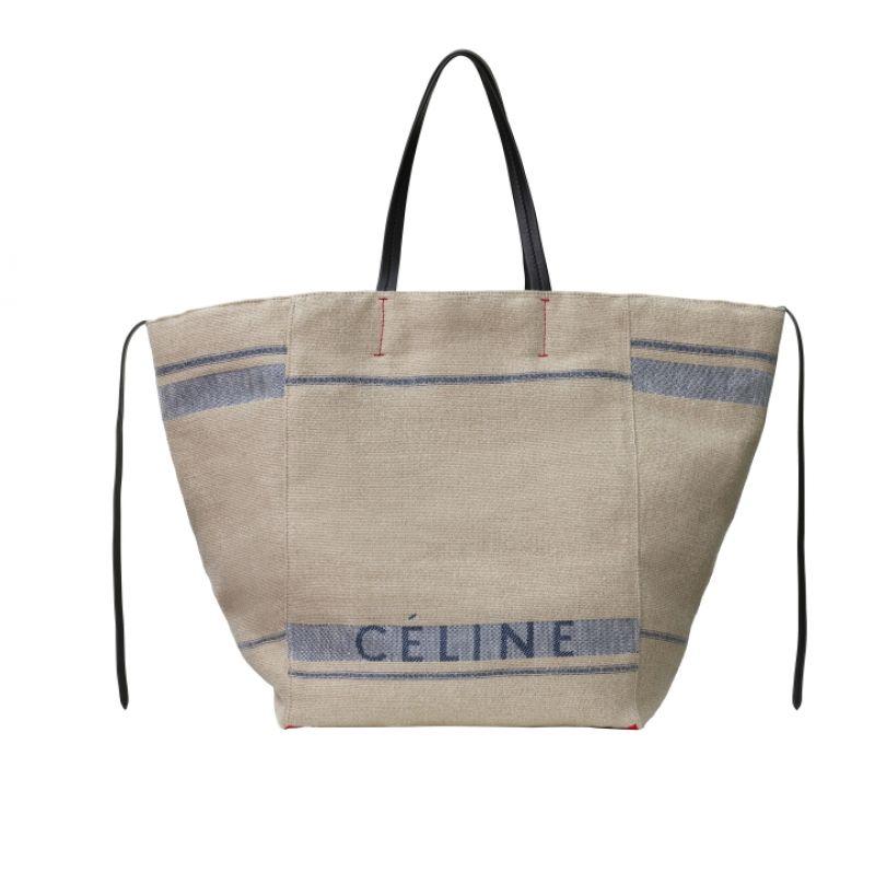 亞麻色帆布托特包,CÉLINE,NT58,000。