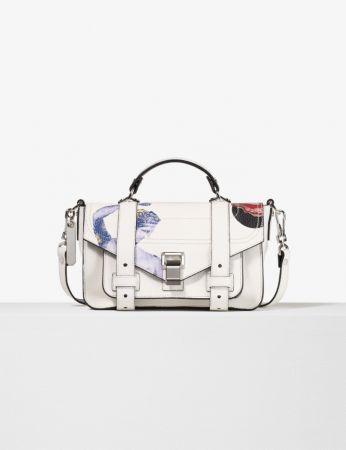 皮革拼貼包,Proenza Schouler,NT61,000。