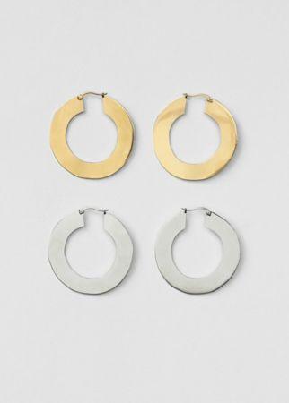 黃銅耳環,CÉLINE,NT14,000。