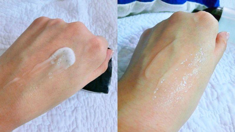 水凝霜裡的 5,000顆微滴粒子真的很有感,一抹水感迸發,輕鬆做好滿分保養!肌膚澎潤,就好像光都聚在臉上,好像美肌模式隨時ON