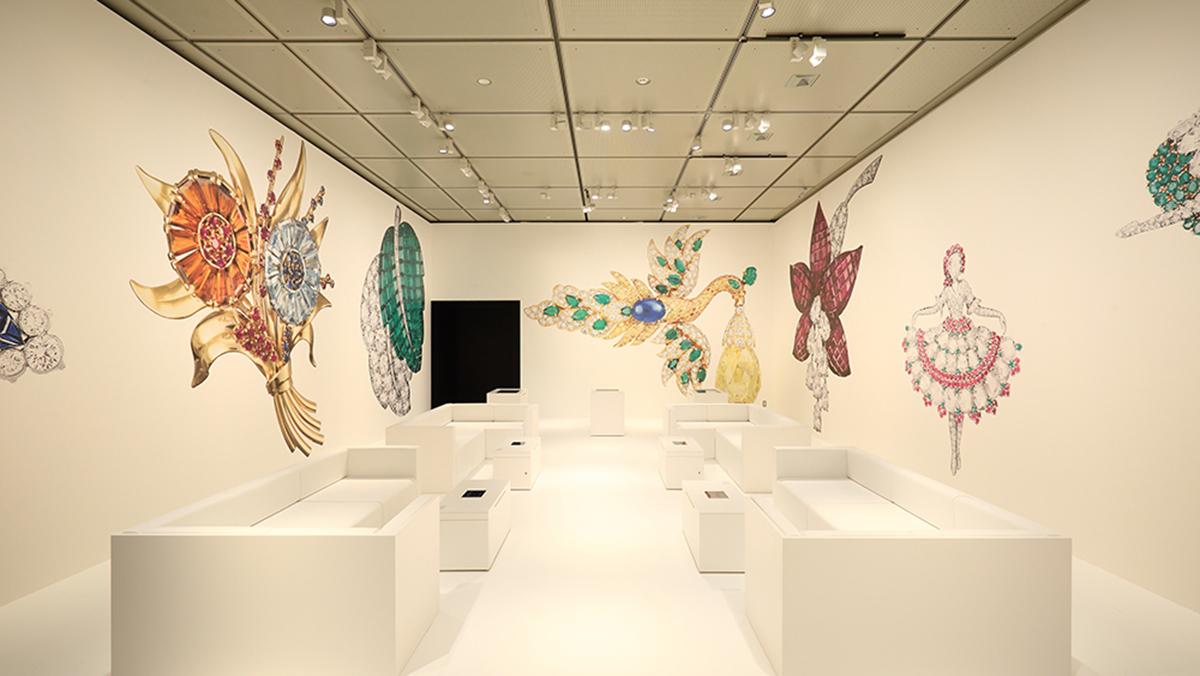 【編輯帶路】一場日與法之間的藝術對話,梵克雅寶珠寶展的五大焦點