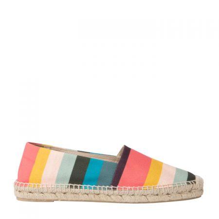 彩虹條紋休閒鞋,Paul Smith,NT9,800。
