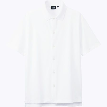 UNIQLO X Theory 男裝DRY舒適鈕釦POLO衫(短袖)_售價NT$990