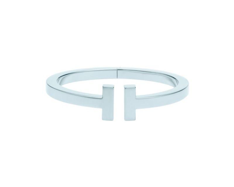 Tiffany T Square 18K白金手環
