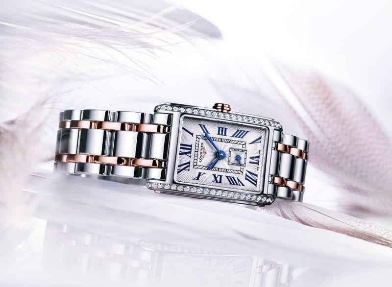 浪琴表新多情系列鑲鑽雙色金腕錶 (L5.512.5.79.7),建議售價NTD141,800
