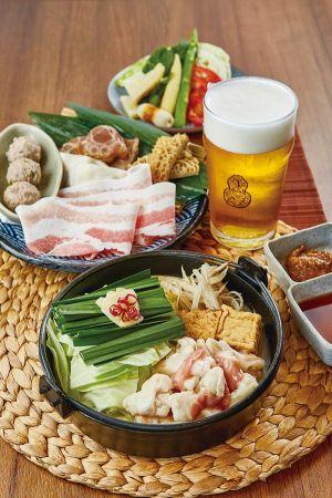 單人鍋+臺虎精釀啤酒罐裝500ml(臺虎Bright Ale),960元/份。