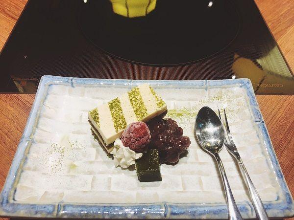 餐後甜點,超鬆軟抹茶提拉米蘇~