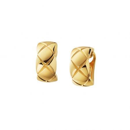 COCO CRUSH 耳環18K黃金。建議售價NT99,000