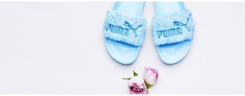 PUMA FENTY Fur Slide NT$3,180 (蘇打沁藍)