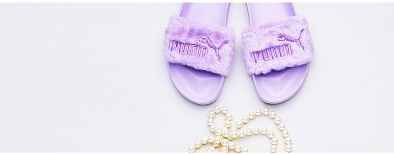PUMA FENTY Fur Slide NT$3,180 (薰衣草紫)