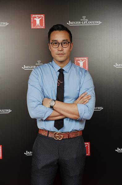 張孝全佩戴積家Master Ultra Thin Perpetual超薄萬年曆大師系列腕錶亮相第20屆上海國際電影節紅毯