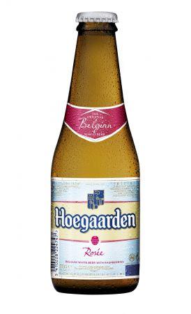 Hoegaarden Rosee 250_豪格登覆盆莓小麥啤酒250ml瓶裝_單瓶