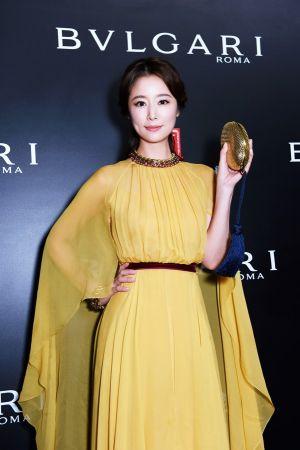 林心如配戴BVLGARI典藏系列出席上海電影節義大利電影周開幕