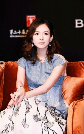 影后章子怡出席中義電影中的生活美學講座
