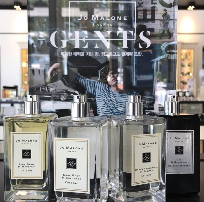 jo malone中不少是男性也大愛的香氣。