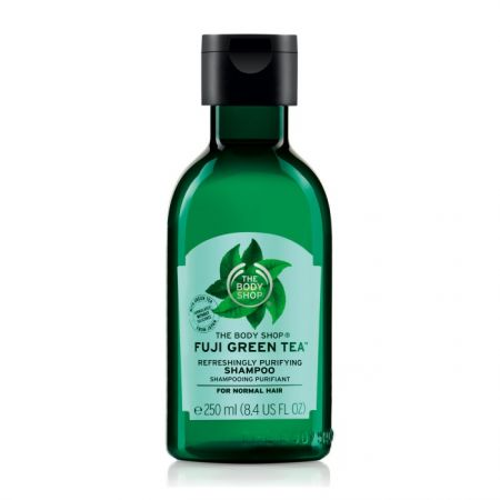 THE BODY SHOP富士山綠茶淨化洗髮精,250ml,$450