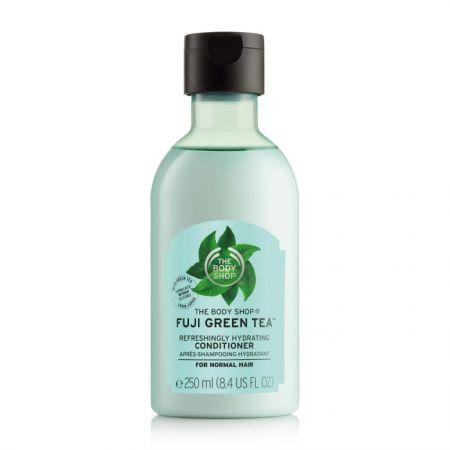 THE BODY SHOP富士山綠茶淨化護髮乳,250ml,$450