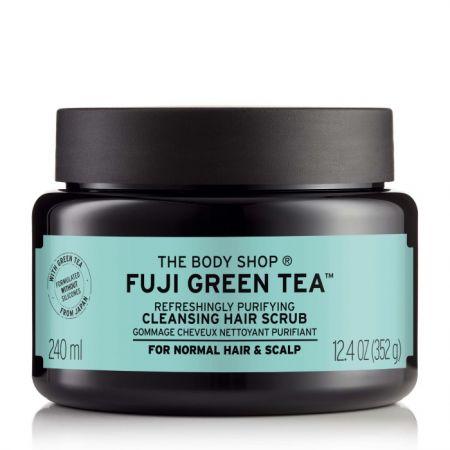 THE BODY SHOP富士山綠茶淨化頭皮去角質洗髮霜,240ml,$880