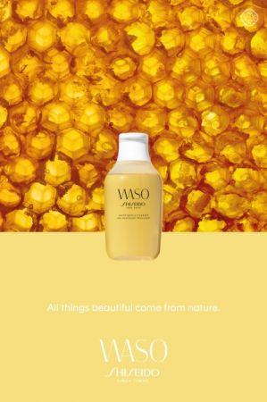資生堂國際櫃全新保養系列WASO (2017.7上市)蜂蜜洗卸蜜150ml,NT850