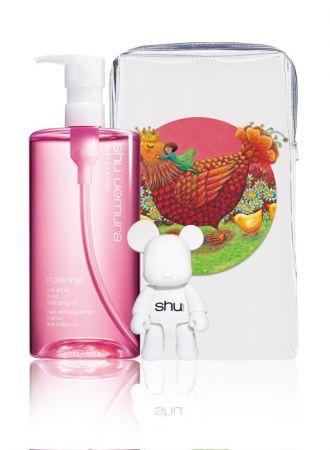 幾米限定療癒版包裝組 - 櫻花水感潔顏油