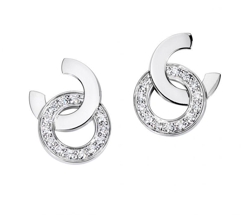 Possession 耳環18K白金鑲嵌26顆圓形美鑽 (約0.5克拉)G38PX200台幣參考價格 181,000 元