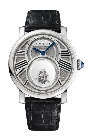 方大同手腕上的一只卡地亞Rotonde de Cartier雙重神秘陀飛輪腕錶,低調又有質感,是出席重要場合的不敗選擇。