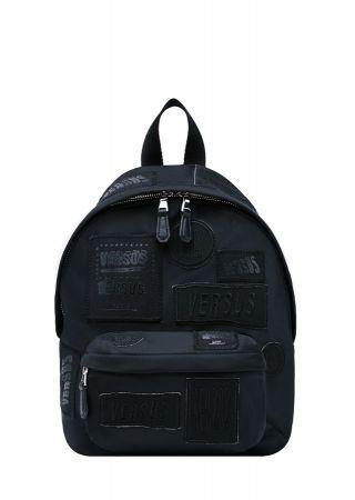 ZAYN X VERSUS聯名系列 - 黑色後背包 $13,500