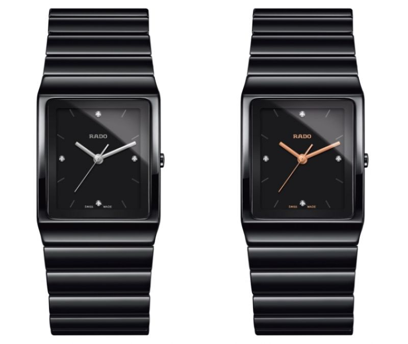 Rado Ceramica 整體陶瓷系列高科技陶瓷腕錶_型號R21700702 建議售價NTD 79,800 /Rado Ceramica 整體陶瓷系列高科技陶瓷腕錶_型號R21700722 建議售價NTD 79,800