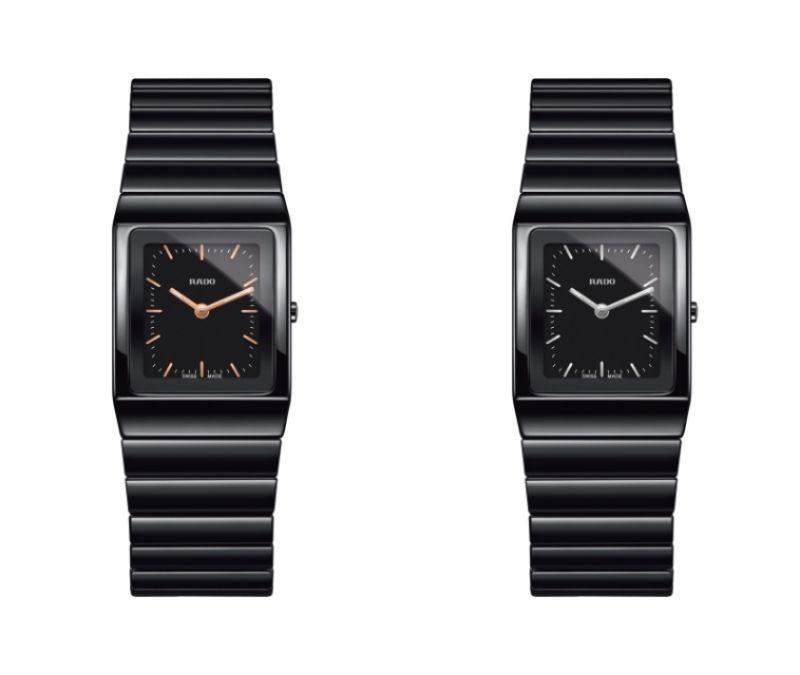 Rado Ceramica 整體陶瓷系列高科技陶瓷腕錶_型號R21702162 建議售價NTD 73,200 /Rado Ceramica 整體陶瓷系列高科技陶瓷腕錶_型號R21702172 建議售價NTD 73,200