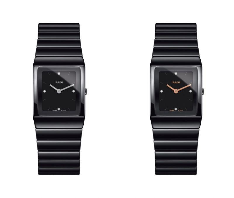 Rado Ceramica 整體陶瓷系列高科技陶瓷腕錶_型號R21702702 建議售價NTD 79,800 /Rado Ceramica 整體陶瓷系列高科技陶瓷腕錶_型號R21702722 建議售價NTD 79,800