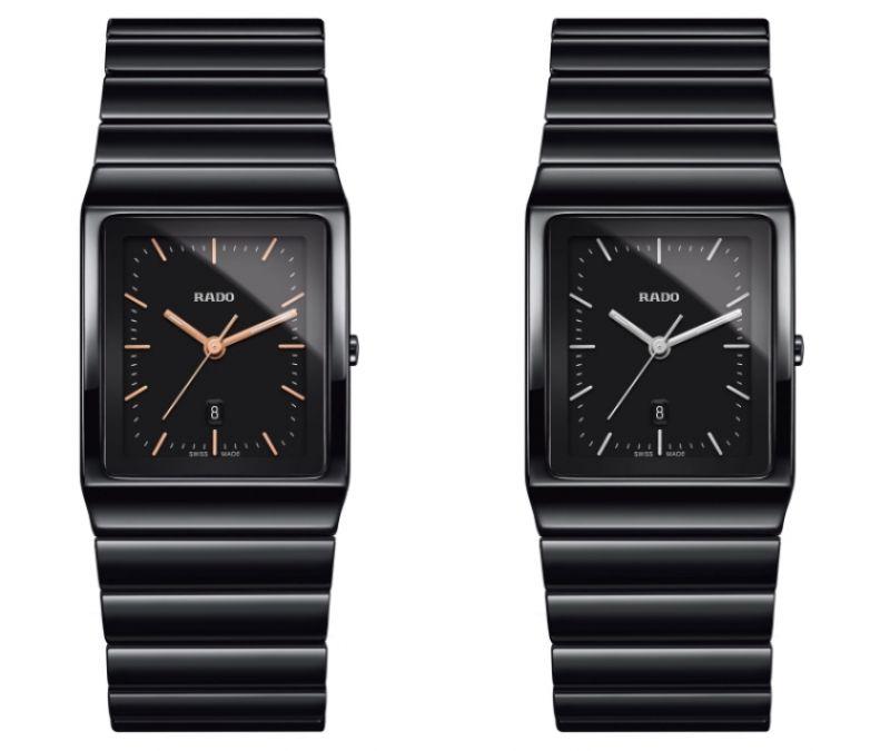 Rado Ceramica 整體陶瓷系列高科技陶瓷腕錶_型號R21700162 建議售價NTD 73,200 /Rado Ceramica 整體陶瓷系列高科技陶瓷腕錶_型號R21700172 建議售價NTD 73,200
