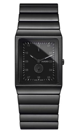 Rado Ceramica 整體陶瓷系列高科技陶瓷腕錶_型號R21706162 建議售價NTD 73,200。