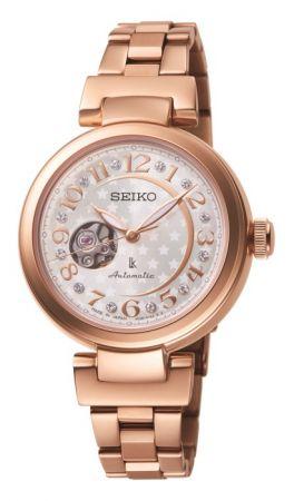 美好時光鏤空機械腕錶-SSA826J1