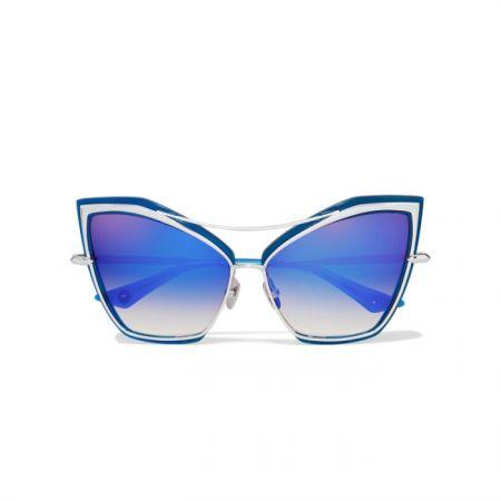 金屬鏡面貓眼墨鏡,DITA by Net-A-Porter,約NT16,625。