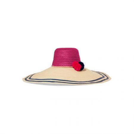 編織遮陽草帽,Sophie Anderson by Net-A-Porter,約NT12,100。
