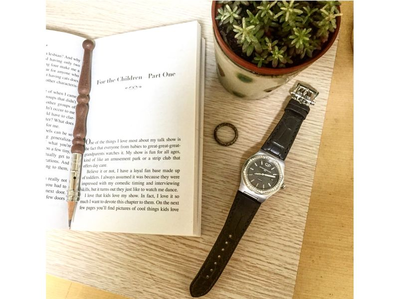 Laureato 38MM不鏽鋼錶殼銀面鋼帶款_NTD 316,800