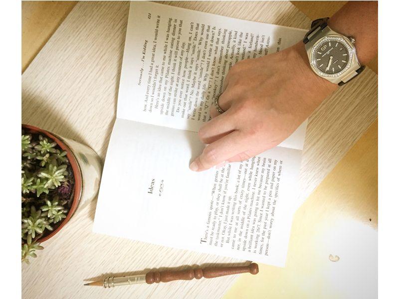 Laureato 42MM不鏽鋼錶殼藍面鋼帶款_NTD 336,400
